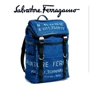 NWOT: Salvatore Ferragamo Backpack - Orig. $1582